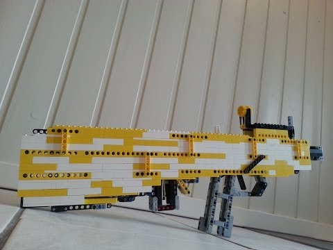Lego Tavor Assault Rifle (Working)