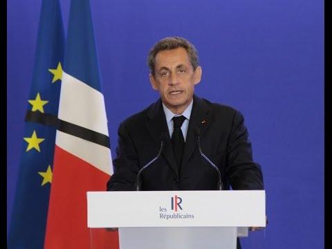 Déclaration de Nicolas Sarkozy suite à l'attentat de Saint-Etienne-du-Rouvray