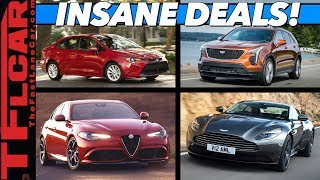 $10K Under Sticker - Here Are Ten of The Most UNBELIEVABLE New Car Bargains!