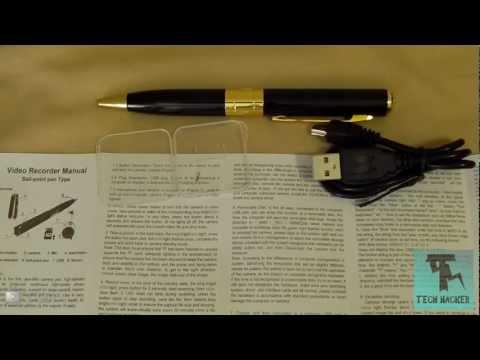 Mini HD Spy Pen Review (Hidden Spy-cam)