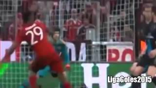 Bayern Munich vs Arsenal 3 0 All Goals First Half Champions League 2015