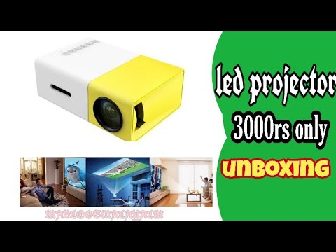 Mini Portable (600 Lumens Video 1080P)High Resolution LED Projector unboxing Malayalam