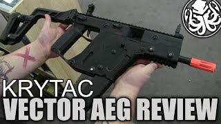 Krytac Kriss Vector AEG Airsoft Review - Is it better than your Krytac?