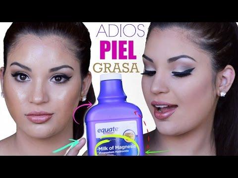 Trucos de maquillaje para PIEL GRASOSA  (EL SECRETO) ADIOS BRILLOS