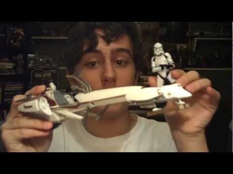 Star Wars 2012 BARC Speeder with Clone Trooper Review