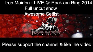 Iron Maiden Live at Rock am Ring 2014 Full uncut show