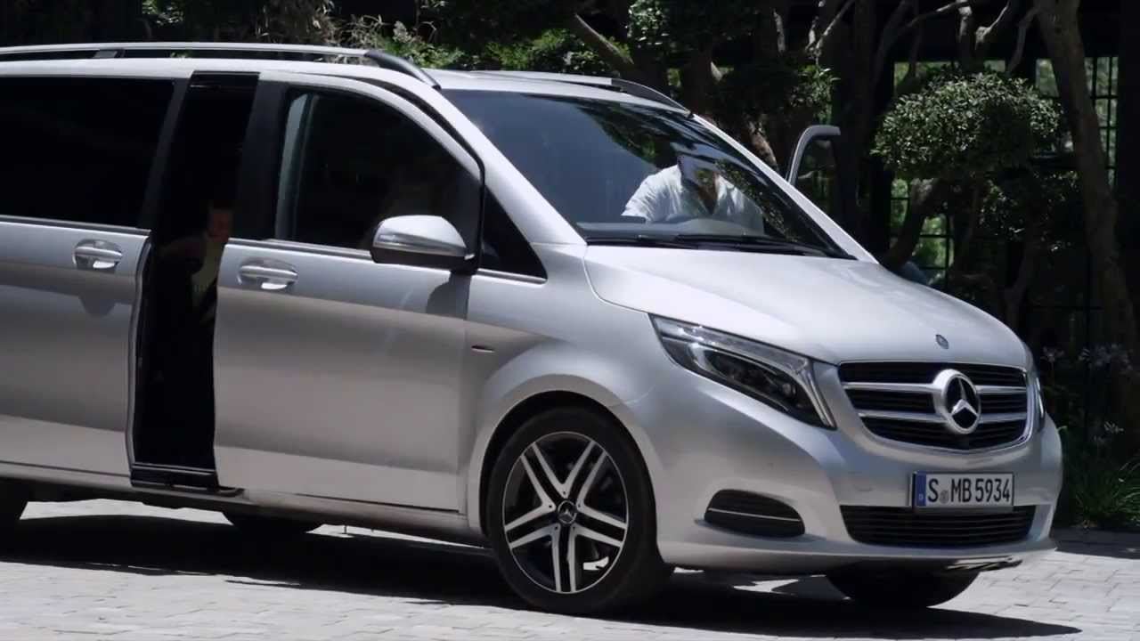 Mercedes benz new 2015 v class hd trailer youtube for Mercedes benz van 2015