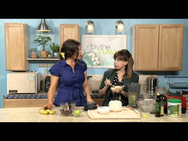 Silky Smooth Carob Nut Shake by Dorit - Blythe Raw Live