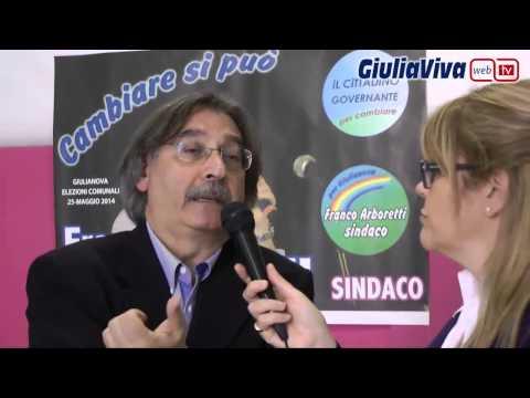 Franco Arboretti candidato Sindaco