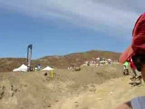 Glen Helen 2006 large double jump Video