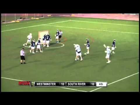 Westminster's Ryan Drenner Gets the Hat Trick in the MPSSAA 3A/4A Championship