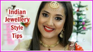 What necklaces to style with different Indian outfits | Ethnic Jewelry Style