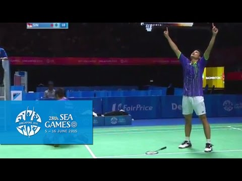 Badminton Ina vs Sin (Day 10) | 28th SEA Games Singapore 2015