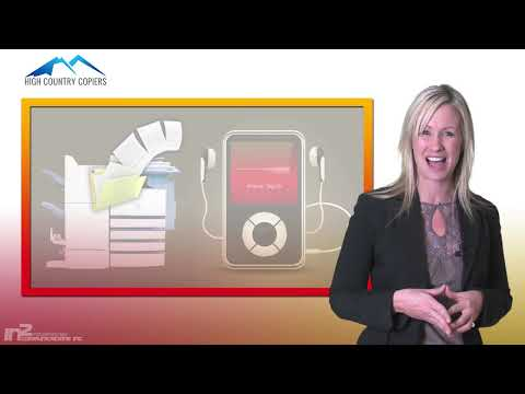Converting Paper Files into MP3 Files -- High Country Copiers