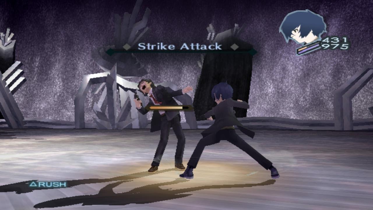 Protagonist Persona 3 Persona 3 Fes Protagonist vs
