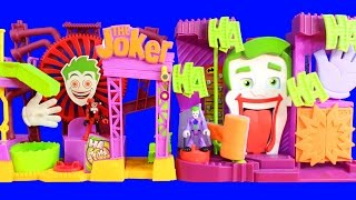 Imaginext Batman And Robin Go Invisible To Rescue Cyborg Joker Puts Them In Jail