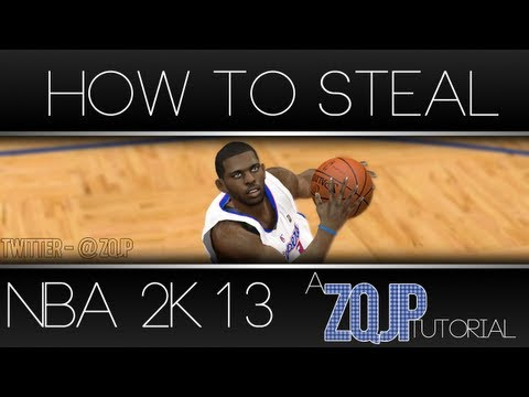 NBA 2K13 Tutorial: THE ULTIMATE TUTORIAL ON HOW TO STEAL   BECOMING A STEALING MASTER [HD]