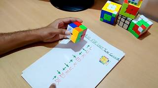 """How To Solve """"2*2*2 RUBIK'S CUBE"""" In Hindi With Simple Arrow Mthod at """"10 SECOND"""" [Kapil Bhatt]"""