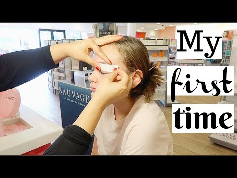 13 YEAR OLD GETS EYEBROWS WAXED FOR THE FiRST TiME!