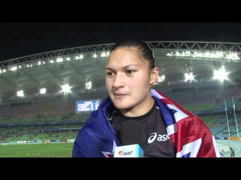 WC 2011 - IAAF Interview with Valerie Adams