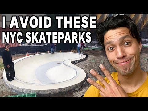 3 NYC Skateparks I Will NOT Go To