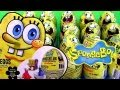 36 Spongebob Toy Surprise Easter Eggs Holiday Edition Toys Unwrapping Epic Review by Disneycollector