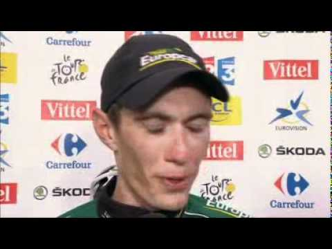 STAGE 19 - Interview - Stage Winner Pierre ROLLAND