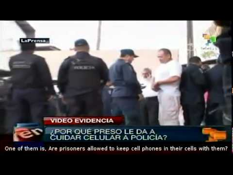 Honduras:video shows complicity between police and prisoners