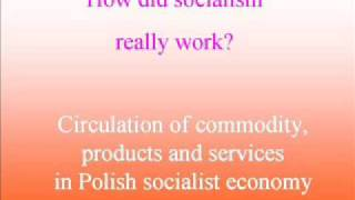 Circulation of commodities in socialist economy