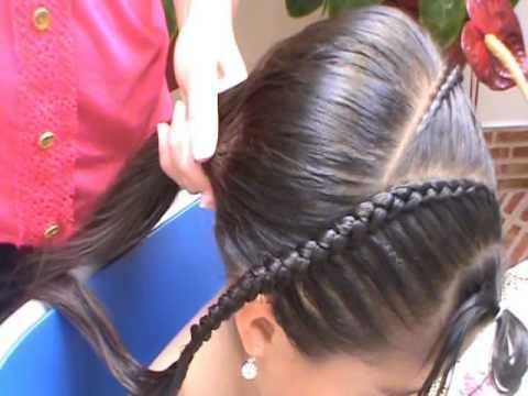peinados sencillos con trenzas paso a paso para niña