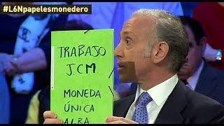 Inda muestra el informe por el que Monedero se embolsó 425.000 euros: un taco de folios en blanco