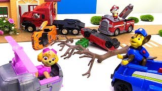 PAW Patrol. Toy cars & trucks need help.