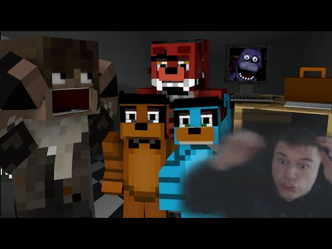 Minecraft FIVE NIGHTS AT FREDDY'S! (Vanilla 1.8 Horror Map) w/ Facecam