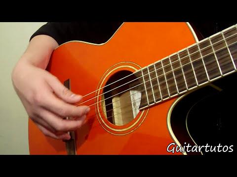 Como tocar Arpegios en guitarra acústica # 1,  tus primeras 2 técnicas (fácil)