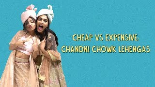 Cheap Vs Expensive: Chandni Chowk Lehengas | Ok Tested