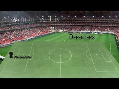 Borussia Dortmund 3-0 Schalke 04 (Dortmund Starting Lineup) Bundesliga 2014/2015