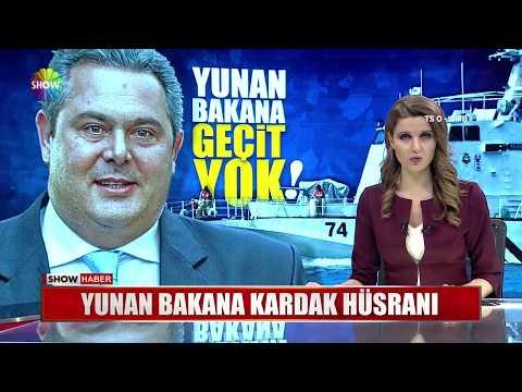 Yunan Savunma Bakanı'na Kardak hüsranı