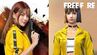 [Garena Free Fire] Nhân Vật Ngoài Đời Thực Và Trong Game Khác Nhau Như Thế Nào ? | Sỹ Kẹo