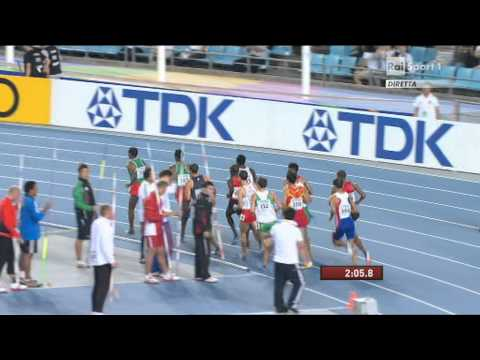 1500 Metres men semifinal heat 1 IAAF World Championships Daegu 2011