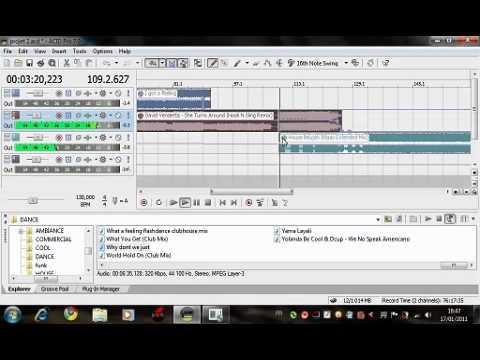 Mix n°2 sur ACID PRO 7