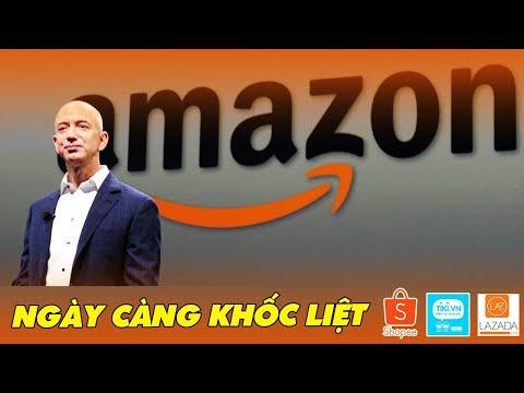 Amazon Bước Đầu Tiến Vào Việt Nam | Shopee, Lazada, Tiki Sắp Chạm Trán Đối Thủ Sừng Sỏ
