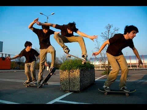 Как сделать ollie на скейте (How to ollie on skateboard) Полный разбор олли