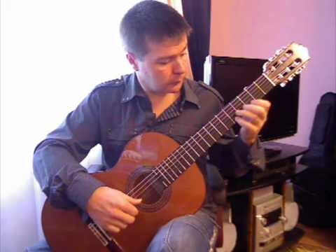 C. Romero. Soleares (p.1) from Suite Andaluza. Spanish guitar V. Sharii /Шарий