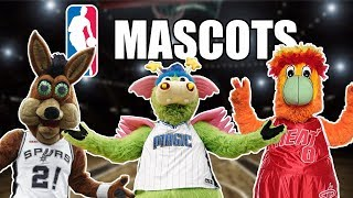 All 30 NBA Team Mascots Ranked