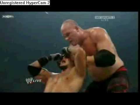 Rey Mysterio unmasked? Mysterio vs Kane - YouTube