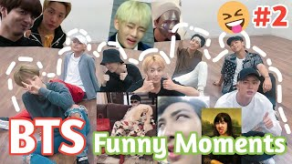 BTS Funny Moment #2|บังทันเป็นวงตลก|