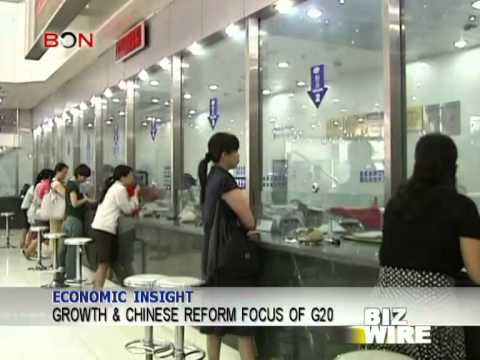 Growth & Chinese reform focus of G20 - Biz Wire - February 24,2014 - BONTV China