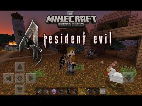 Resident evil 4 Minecraft Pocket Edition 1.1.5.1