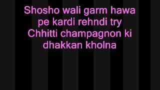 Panjabi Songs Lyrics