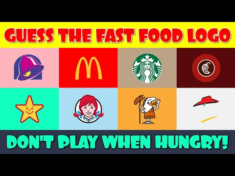 Fast Food Logo Quiz  Guess the Logo  Logo Quiz Game  Logo Challenge